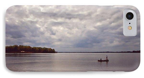Mid Lake Storm Phone Case by Scott Pellegrin