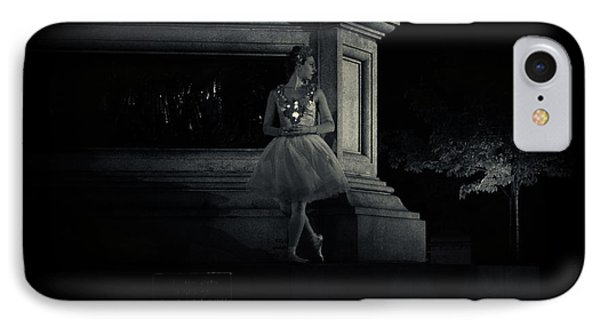 Midnight Ballerina New York City IPhone Case by Sabine Jacobs