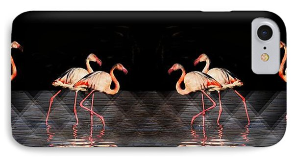 Midnight Tango Phone Case by Ernestine Manowarda