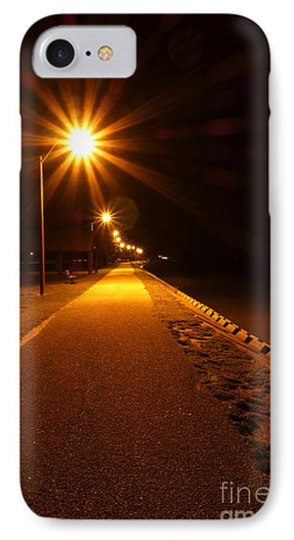 Midnight Walk IPhone Case by Olivier Le Queinec