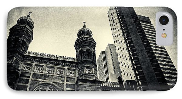 Midtown Synagogue New York City IPhone Case by Sabine Jacobs