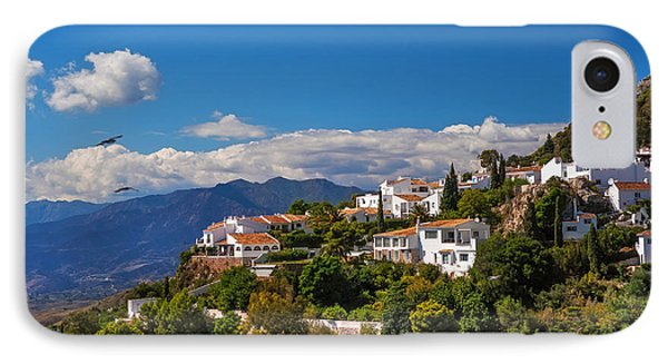 Mijas. White Village Of Spain Phone Case by Jenny Rainbow