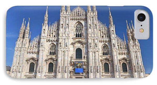 Milan Cathedral  Phone Case by Antonio Scarpi