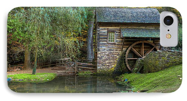 Mill Pond In Woods Phone Case by William Jobes