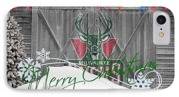 Milwaukee Bucks Phone Case by Joe Hamilton