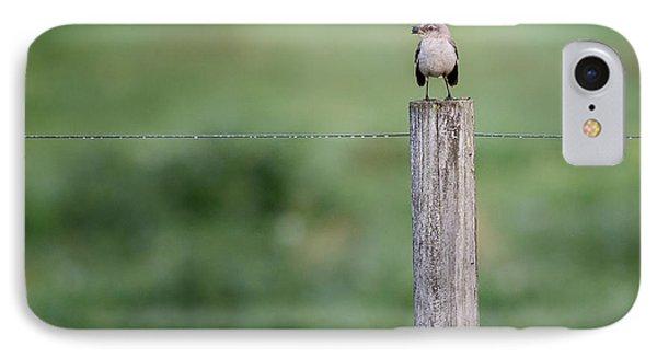 Minimalism Mockingbird IPhone Case by Bill Wakeley