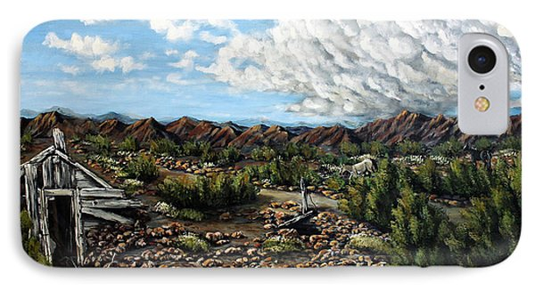 Mining Nevada Phone Case by Julie Townsend