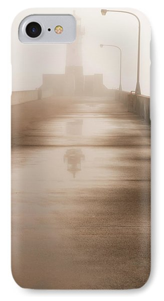 Minnesota, Duluth, Canal Park, Ship IPhone Case by Peter Hawkins