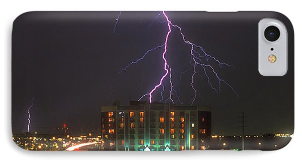 Minnesota Electrical Storm IPhone Case by Mike McGlothlen