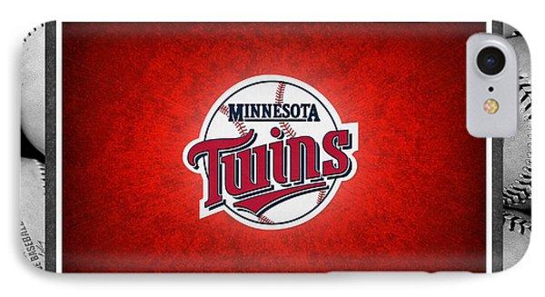 Minnesota Twins Phone Case by Joe Hamilton