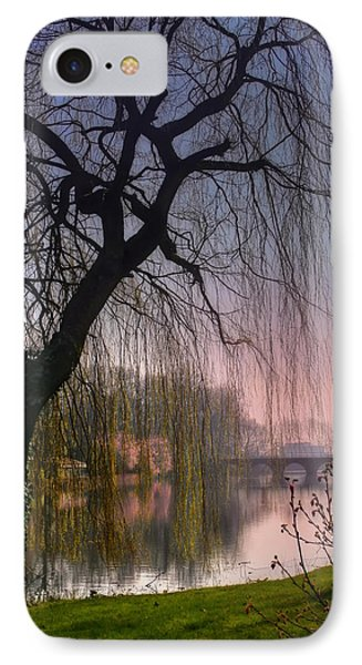 Minnewater Lake Bruges IPhone Case by Carol Japp
