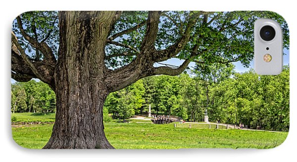 Minute Man National Historical Park  IPhone Case by Edward Fielding