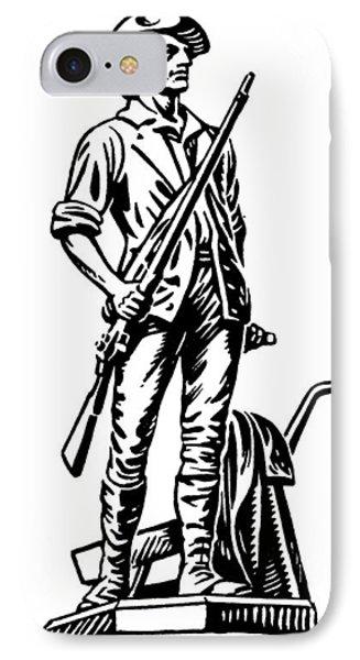 Minutemen Phone Case by Granger