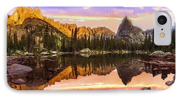 Mirror Lake Yosemite National Park Phone Case by Bob and Nadine Johnston