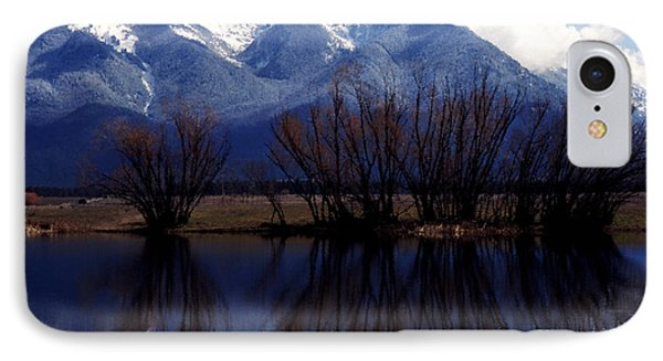 Mission Mountains Mission Valley Phone Case by Thomas R Fletcher