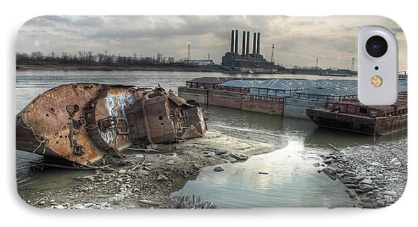 Mississippi River IPhone Case by Jane Linders