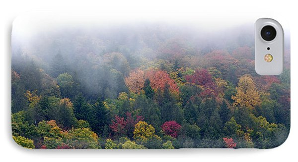 Mist And Fall Color Phone Case by Thomas R Fletcher