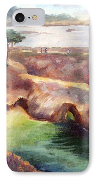 Misty Afternoon China Cove IPhone Case by Karin  Leonard