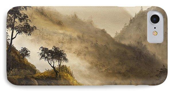 Misty Hills Phone Case by Darice Machel McGuire