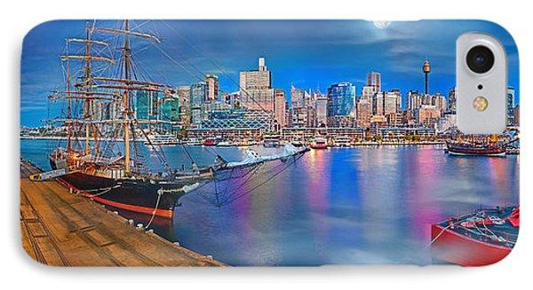 Misty Morning Harbour IPhone Case by Az Jackson