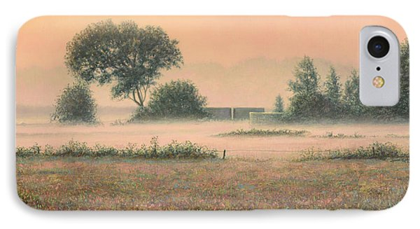 Misty Morning IPhone 7 Case by James W Johnson