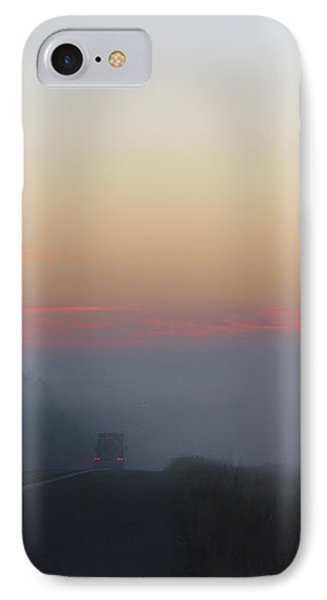 Misty Morning Road Phone Case by Wendy J St Christopher