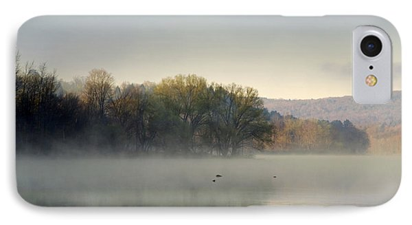 Misty Morning Sunrise Phone Case by Christina Rollo