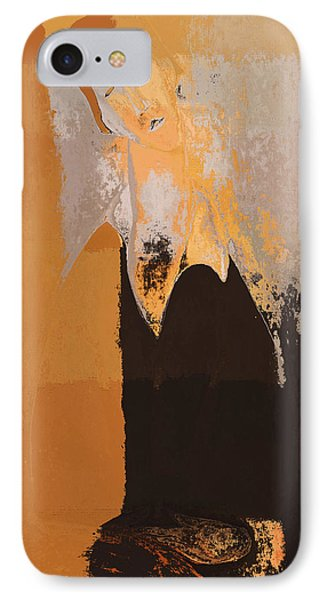 Modern From Classic Art Portrait - 01 Phone Case by Variance Collections