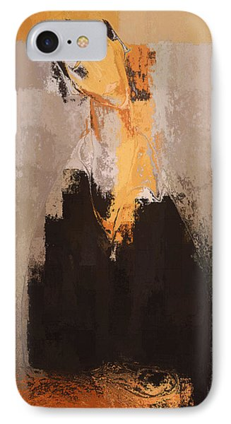 Modern From Classic Art Portrait - 088a Phone Case by Variance Collections