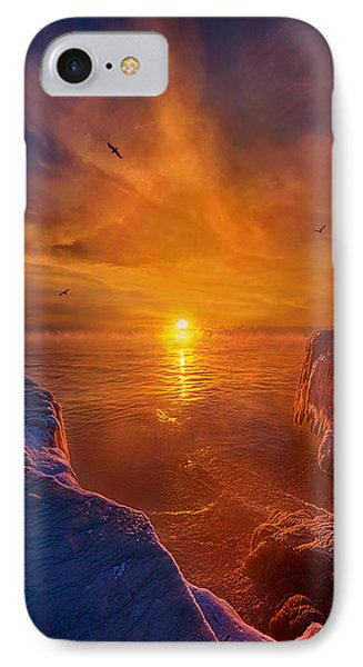 Moments Of Discovery IPhone Case by Phil Koch