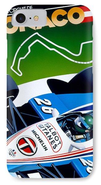 Monaco IPhone Case by Gavin Macloud