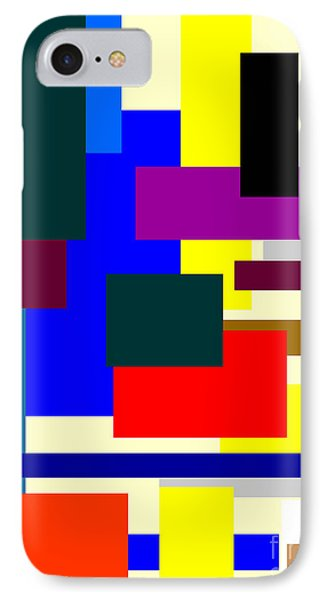Mondrian Composition IPhone Case by Celestial Images