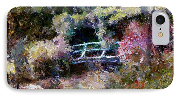 Monet's Bridge In Autumn IPhone Case by Dragica  Micki Fortuna