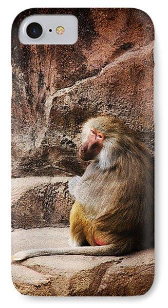 Monkey Business Phone Case by Karol Livote