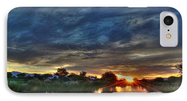 Monsoon Sunset Phone Case by Tam Ryan