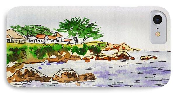 Monterey- California Sketchbook Project Phone Case by Irina Sztukowski
