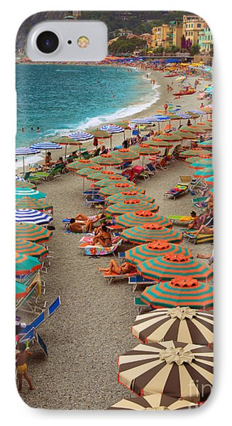 Monterosso Beach IPhone Case by Inge Johnsson