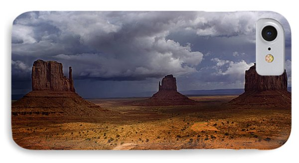 Monuments Of The West Phone Case by Ellen Heaverlo