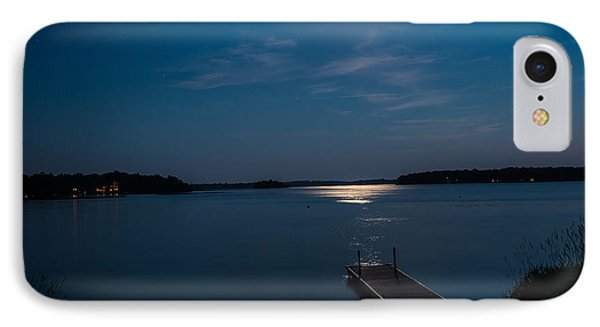 Moon Light Reflections IPhone Case by Paul Freidlund