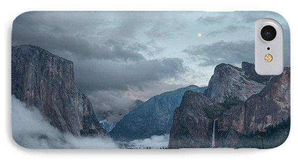 Moon Rise Yosemite IPhone Case by Bill Roberts
