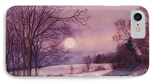 Moon Rising IPhone Case by Joy Nichols