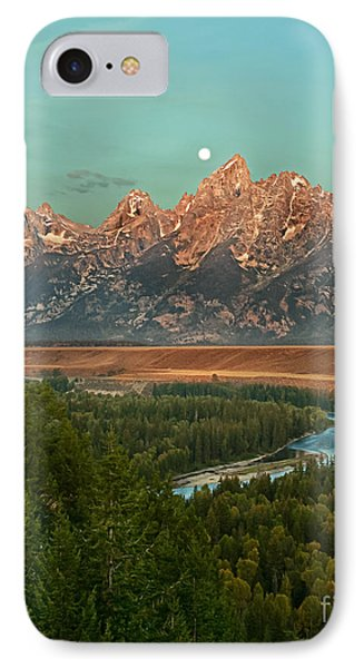 Moon Setting Phone Case by Robert Bales