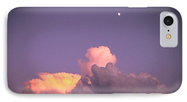 Moon Speck Phone Case by Robert J Andler
