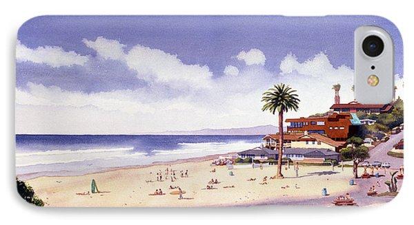 Moonlight Beach Encinitas IPhone Case by Mary Helmreich