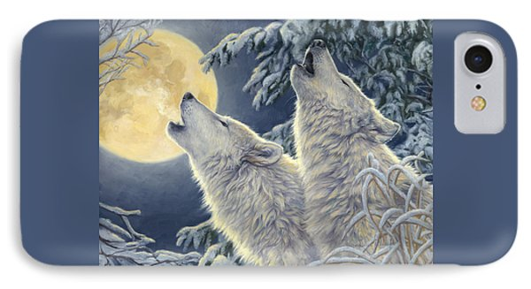 Moonlight IPhone Case by Lucie Bilodeau