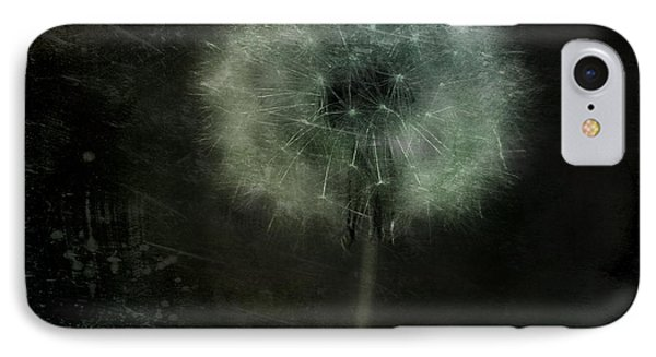 Moonlit Dandelion Phone Case by Gothicolors Donna