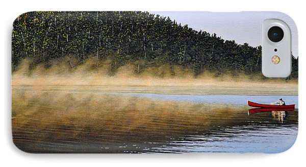 Moose Lake Paddle Phone Case by Kenneth M  Kirsch