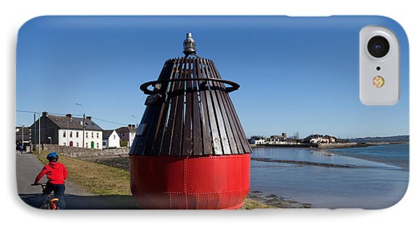Moresby Memorial Bouy , County IPhone Case by Panoramic Images
