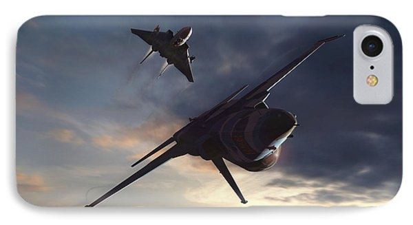 Morning Aerobatics IPhone Case by Dorian Dogaru
