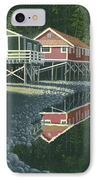 Morning At Telegraph Cove Phone Case by Gary Giacomelli